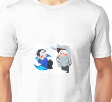 h20 delirious and Ohmwrecker chibis Unisex T-Shirt