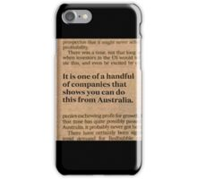 Redbubble In The News iPhone Case/Skin