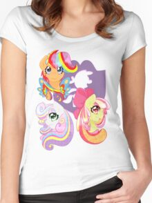 Rainbow Power - CMC Women's Fitted Scoop T-Shirt