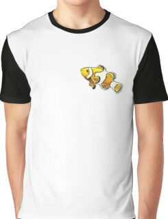 Curious Clownfish Graphic T-Shirt