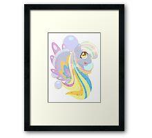 Rainbow Power - Derpy Framed Print