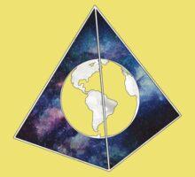 Lost World in Galaxy Pyramid One Piece - Short Sleeve