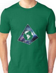 Lost World in Galaxy Pyramid Unisex T-Shirt