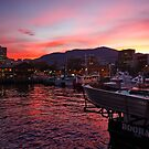 Constitution Dock Sunset - Hobart, Tasmania by PC1134