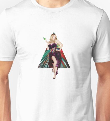 Kylie Minogue Snow White Christmas Unisex T-Shirt