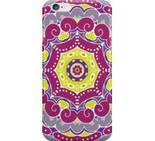 Violet mandala iPhone Case/Skin