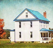 Country farmhouse in Autumn by vigor