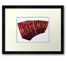 // Mike-Ro-Wave // Don't Stop Heroes // Michael // Framed Print