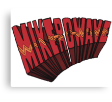 // Mike-Ro-Wave // Don't Stop Heroes // Michael // Canvas Print