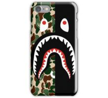 bape camo green black  iPhone Case/Skin