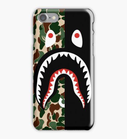 bape camo green black  iPhone Case/Skin