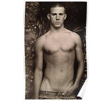 Young Channing Tatum Poster
