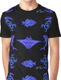 Hawaiian Wildlife Graphic T-Shirt