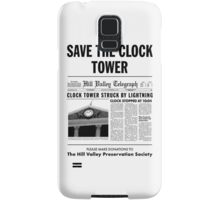 Save the clock tower Samsung Galaxy Case/Skin
