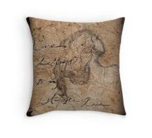 Love Letters To My Infinite Love Throw Pillow
