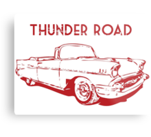 Thunder Road Metal Print