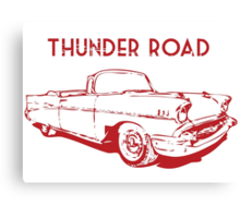 Thunder Road Canvas Print