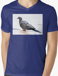 MOURNING DOVE Mens V-Neck T-Shirt