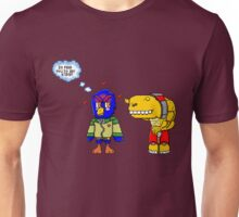 Why birds eat worms Unisex T-Shirt