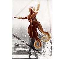 Dancing Octopus Photographic Print
