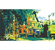 Cedarburg Art Museum - Cedarburg WI (bold) Photographic Print