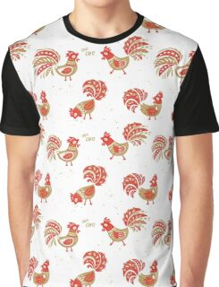 Fire Cock Graphic T-Shirt