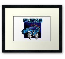 Purge Framed Print