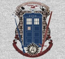 crest of the knight of fandom (a LOT of fandoms actually ;) T-Shirt