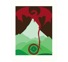 The King Under the Mountain Art Print
