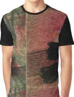 Shadows of Tulips of the Sidewalk Graphic T-Shirt