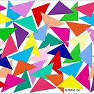 52 TRIANGLES by RainbowArt