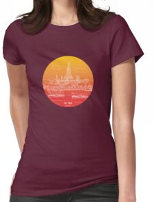 Wat Arun - Day Womens Fitted T-Shirt