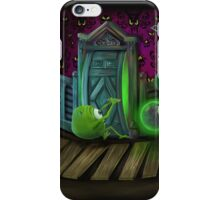 Haunted Monsters Inc iPhone Case/Skin