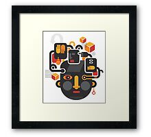 See no evil. Framed Print