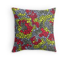 Psychedelic reptile.  Throw Pillow