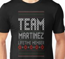 Team Martinez Lifetime Member Ugly Christmas T-Shirt Unisex T-Shirt
