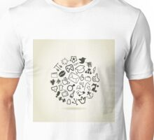 Abstract drawing Unisex T-Shirt
