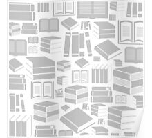 Book a background Poster