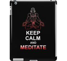 Keep Calm and Meditate iPad Case/Skin