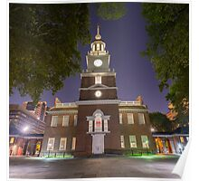 Independence Hall - Philadelphia, PA Poster
