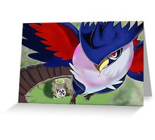 Honchkrow PokeFan Art Greeting Card