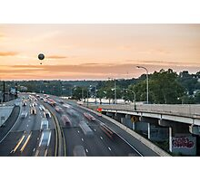 Sunset Expressway - Philadelphia, PA Photographic Print