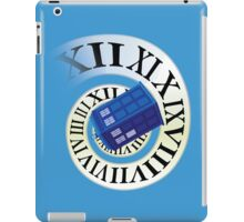 TARDIS in time iPad Case/Skin