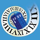 TARDIS in time by awiec