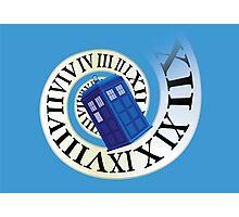 TARDIS in time Photographic Print