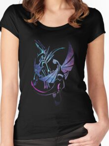 Dialga x Palkia Women's Fitted Scoop T-Shirt
