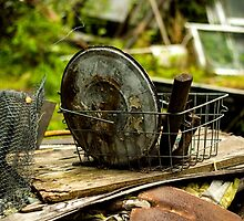 Old Metal and Wooden Stuff/Objects - Object Photography by JuliaRokicka