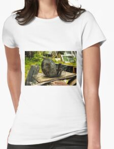 Old Metal and Wooden Stuff/Objects - Object Photography Womens Fitted T-Shirt