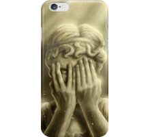 Peeping Angel iPhone Case/Skin