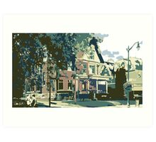 Cedarburg Art Museum - Cedarburg WI (muted) Art Print